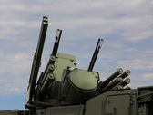 Weapons of antiaircraft defense Pantsir-S1 — Stock Photo