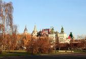 City park in autumn — Stock Photo