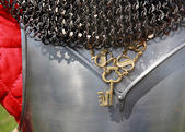 Knightly armor — Stock Photo