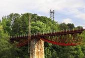 железнодорожный мост — Стоковое фото