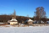 Kırsal evleri — Stok fotoğraf