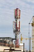Equipment of mobile communication — Stock Photo