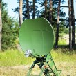 Parabolic antenna satellite communications — Stock Photo #49856047