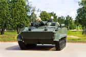 Infantry combat vehicles — Stock Photo