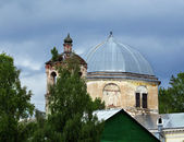 Temples dome and belfry — Stock Photo