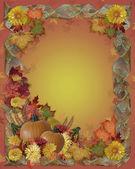 Fond d'automne chute Thanksgiving — Photo