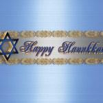 Hanukkah Border Elegant — Stock Photo #2145612