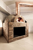 Wood fired oven — Stock Photo