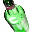 Empty alcohol bottle — Stock Photo