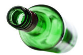 Empty alcohol bottle — Foto de Stock