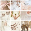 collage de mariage — Photo #12637687