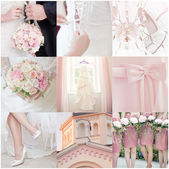 Collage de boda — Foto de Stock