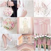 Collage de mariage — Photo