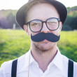 Royalty-Free Stock Photo: Mustache