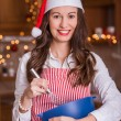 Stock Photo: Christmas cooking