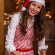 Christmas cooking — Stock Photo