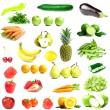 Mixed Fruits and Vegetables — Stock Photo