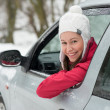Driving in winter — Stock Photo #19118477