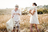 Pillow Fight — Foto Stock