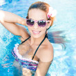 Bikini in action — Stock Photo #27195187