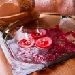 Stock Photo: Spa candle