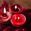 Spa candle — Stock Photo