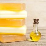 Yellow soap — Stock Photo