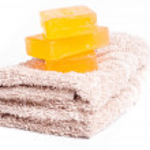 Yellow soap — Stock Photo #28748139