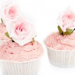 Pink cupcake — Stock Photo #28748741
