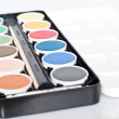 Stock Photo: Water-color paint-box.