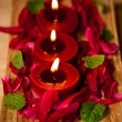 Valentines candles — Stock Photo #28751275