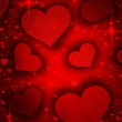 Valentines red heart — Stockfoto