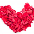 Valentines red heart — Stock Photo