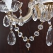 Stock Photo: chrystal chandelier