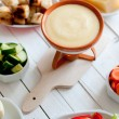 Cheese fondue — Stock Photo #28755921