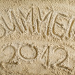 Summer 2012 — Stock Photo #28756713