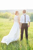 Bride and Groom — Fotografia Stock
