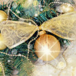 Stock Photo: Hanging Christmas decoration