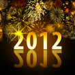 New Years 2012 — Foto Stock