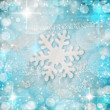Beautiful snowflakes background — Stock Photo