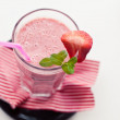 Strawberry milkshake — Stock Photo #28764557