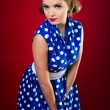 Stock Photo: Retro Girl