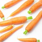 Fresh carrot - vegetable group on white background — Stock Photo #28765079