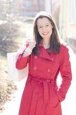 笑顔の女性 — ストック写真