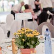 Wedding table setting — Stock Photo #28770473