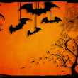 Stockfoto: Halloween background