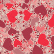 Stock Photo: Seamless Valentine's Day pattern