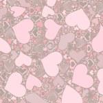 Seamless Valentine's Day pattern — Stockfoto