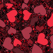 Seamless Valentine's Day pattern — Stock Photo