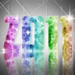 nieuwe jaar 2011 — Stockfoto